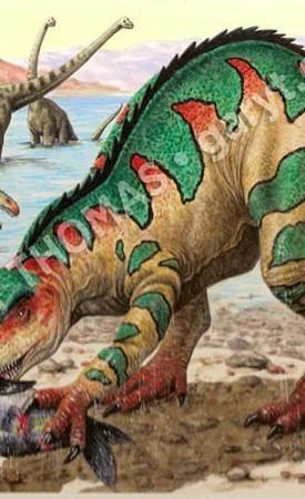 Suchomimus & Brachiosaurus